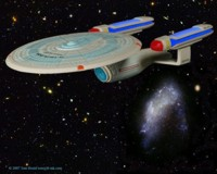 Enterprise C by the Arrowhead galaxy. 