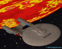 The Enterprise D investigates a Romulan attack on the Amorgosa Observatory.