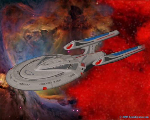 "Star Trek: Riker takes the Enterprise E out of the Brierpatch to contact Star Fleet in ""Insurrection""."